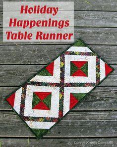 Holiday Happening Table Runner Pin