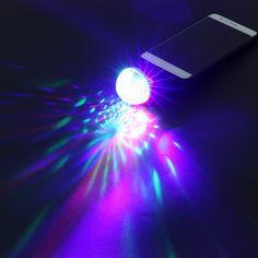 Goedkope Upgrades Crystal Magic Ball Led Stage Lamp 7 ...