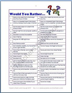 Would you rather - Morning meetings.  Speaking from experience, upper el kids LOVE would you rather!