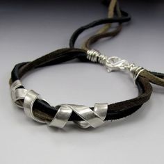 Laura Bracken Designs Blog: Metal Clay Kiln Conniptions and New Jewelry Including Unisex Boho Bracelet