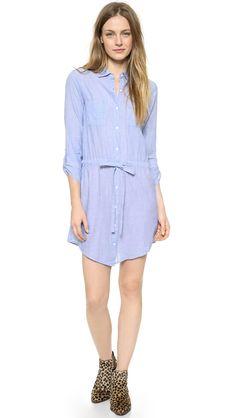 Velvet Monet Chambray Shirtdress