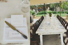 Cornerstone Sonoma Wedding - Dinner Details