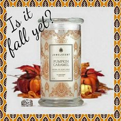 Get ready for the fall with this amazing candle!!! Best part is a ring is hidden inside!! Get yours here with the coupon LAST20 for 20% off at checkout! www.jewelscent.com/kurquhart94