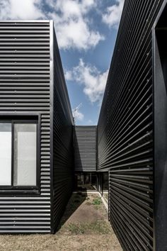 Paneles corrugados para fachadas
