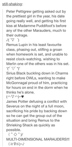 I love this but mcgonnagal was the transformation professor not charms<---- Smiling so much right now.<----McGonnagal is the Gryffindor house head Harry Potter Marauders, Marauders Era, Harry Potter Fandom, Harry Potter Memes, Fangirl, Peter Pettigrew, No Muggles, Yer A Wizard Harry, James Potter