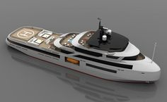 Studio Sculli's latest 65 metre superyacht concept - New Designs - SuperyachtTimes.com