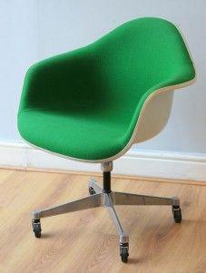 herman miller rare eames vintage desk chair