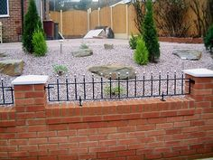 front garden wall designs Google Search jardines Pinterest