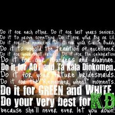 """AOT <3 Love this and the """"remember when"""" part, reminds me of recruitment!!!!"""