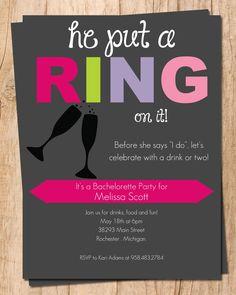 printable bachelorette invitation - cowgirl, country, bachelorette, Party invitations