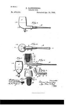 Patent US473212 - Tobacco-pipe - Google Patents