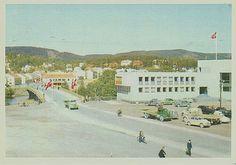 Nord-Trøndelag fylke Steinkjer kommune oversikt 1950-tallet utg Aune