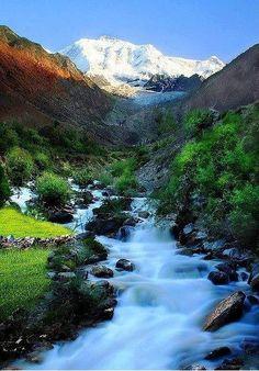 The beauty of Nagar Valley , Gilgit Baltistan pakistan .