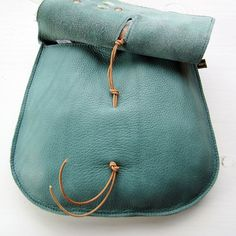 Pochette in pelle fatti a mano della borsa in pelle da Jade Fairysteps