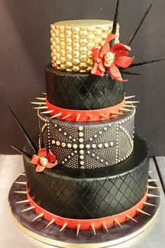 Mod Rocker by Alliance Bakery, via Flickr....birthday cake for someone with the nickname Spike??!!