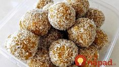 Recipe Healthy Apricot, Nut & Seeds Bliss Balls by trillylilly, learn to make this recipe easily in your kitchen machine and discover other Thermomix recipes in Desserts & sweets. Muesli, Granola, Healthy Treats, Healthy Recipes, Healthy Foods, Dairy Free Snacks, Thermomix Desserts, Chia, Bliss Balls