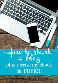 Use my tutorial on how to start a blog and I'll give you my blogging ebook for free! Plus, you'll receive a special discount on hosting! In my book, you'll learn how to get your blog up and running, I'll show you how you can make money blogging right away, and I'll give you dozens of blog prompts and motivation to get you started!!