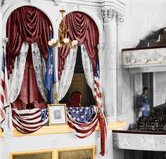 02961 - President's box, Ford's Theatre; Washington, District of Columbia; April 1865 [LC-DIG-cwpb-02961]
