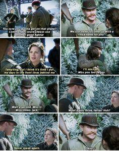 ''Miss Union Jack'' Aaaw, Dum Dum!! :) / Agent Carter. Peggy and Dum Dum are adorable!