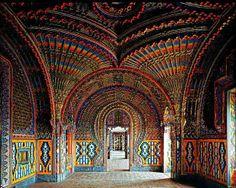 El castillo de Sammezzano, ubicado en la Toscana italiana.