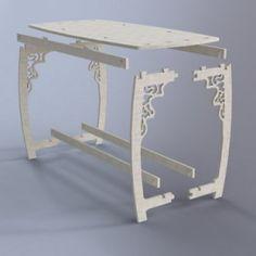 Móveis Quebra Cabeça 3D Puzzle3D Projeto para Corte Laser e Cnc Router Arquivo .dxf .dwg .pdf .eps .cdr Artcam Corel Draw