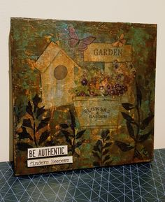 #mixedmedia #art #homedecor #woodpanel #authentic