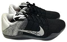 2f5ec1737249 Kobe Bryant Signed Nike Kobe XI Elite Low Top BW Basketball Sneakers JSA    See this great product.