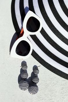 Black & White Details // Stripes, Atlantic Pacific Blog, Blair Eadie