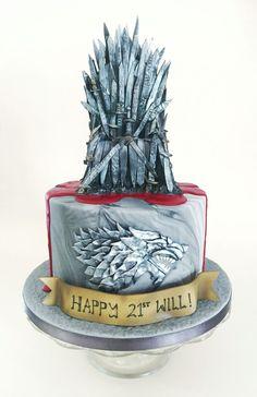 Game of Thrones birthday cake by Bird Bakes … - birthday Cake Ideen Bolo Game Of Thrones, Game Of Thrones Kuchen, Game Of Thrones Party, Game Of Thrones Birthday Cake, My Birthday Cake, 40th Cake, Dad Cake, Crazy Cakes, Dragons Cake