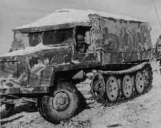 The Schwerer Wehrmachtschlepper was a German World War II half-track flat-bed cargo vehicle used in various roles between 1943 and 1945. The unarmored models were used as supply vehicles and as tractors to haul things. The semi-armored version could mount a medium anti-aircraft gun while the fully armored model carried a 10 barrel rocket launcher. Less a thousand were built before the end of the war, but production continued after the war of an improved model in the Tatra in…