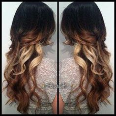 This is why I wanna grow my hair out   #ombre