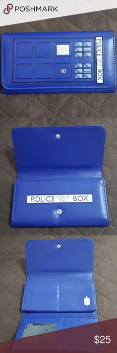 Doctor who wallet Used once Doctor Who wallet. doctor who Accessories