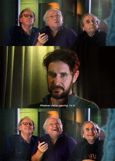 Oh man this was hilarious - Go to http://www.bbc.co.uk/doctorwho to watch the full video of 'The Five(ish) Doctors Reboot.