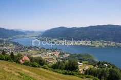 #View To #Lake #Ossiach From #Gerlitzen @depositphotos #depositphotos #@carinzia #ktr15 #nature #landscape #carinthia #austria #summer #season #spring #outdoor #hiking #holidays #vacation #travel #leisure #sightseeing #stock #photo #portfolio #download #hires #royaltyfree