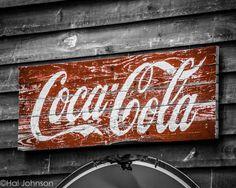 Old Coke 8 x 10 Coca Cola Art Photography by HandLPhotographyTN