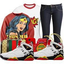 Wonder woman swag oulfit