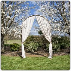 $165 Arch Rental, drapes ordered separately http://catalog.winecountryparty.com/catalog/