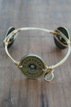 shotgun shell bourbon and boweties bangle