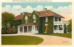 The John Drew residence designed by James Brown Lord c. 1900.