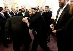 Rabbis during the Conference of European Rabbis in Prague. Photo AP