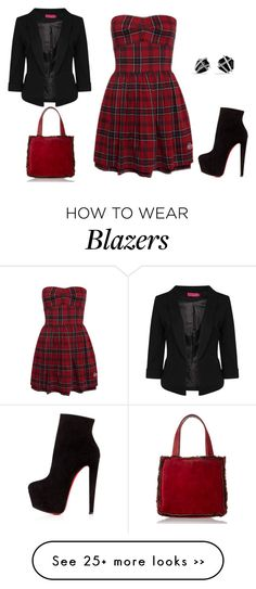 """""""Untitled #3805"""" by browneyegurl on Polyvore featuring Christian Louboutin, David Yurman, Boohoo and Chanel"""