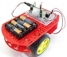 "In the ""Build a Motion-Activated Guard Robot"" #science project, students build a two-wheeled robot that uses a passive infrared (PIR) sensor to detect motion.  [Source: Science Buddies; http://www.sciencebuddies.org/science-fair-projects/project_ideas/Robotics_p024.shtml?from=Pinterest] #STEM #robotics #engineering #scienceproject"