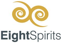 EightSpirits Company Logo, Logos, Shopping, Serenity, Statues, Spiritual, Figurines, Schmuck, Logo