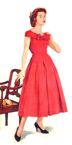 Red Dress <3 1954
