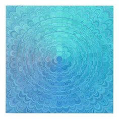 Decorate your walls with Blue canvas prints from Zazzle! Choose from thousands of great wrapped canvas to beautify your home or office. Blue Canvas Art, Canvas Art Prints, Circle Mandala, Bedroom Decor, Wall Decor, Bohemian Pattern, Corner Designs, Mandala Design, Wrapped Canvas