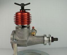 Vintage Webra Record MK I Diesel Model Airplane Engine Control Line   eBay