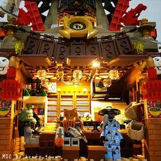 "The LEGO Ninjago Movie Set (2017): ""Garmadon's Restaurant Ambush"" (MOC)  Lord Garmadon's Team"