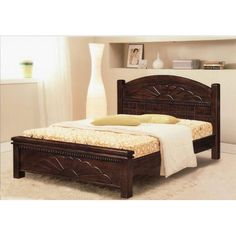 Ikea wooden bed frame small double king size wood furniture cozy pallet for sale beds on Ikea Wooden Bed, Modern Wooden Bed, Wooden Bed Frames, Wood Beds, Wooden Bedroom, Wood Bed Design, Bed Frame Design, Bedroom Bed Design, Diy Bedroom Decor