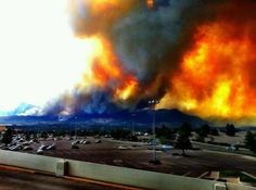Colorado Wildfires 2012 | Colorado wildfires - Waldo Canyon - June, 26, 2012
