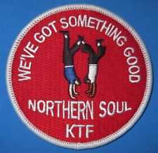 NORTHERN SOUL PATCH - WE'VE GOT SOMETHING GOOD - NORTHERN SOUL - KTF Soul Patch, Northern Soul, Patches
